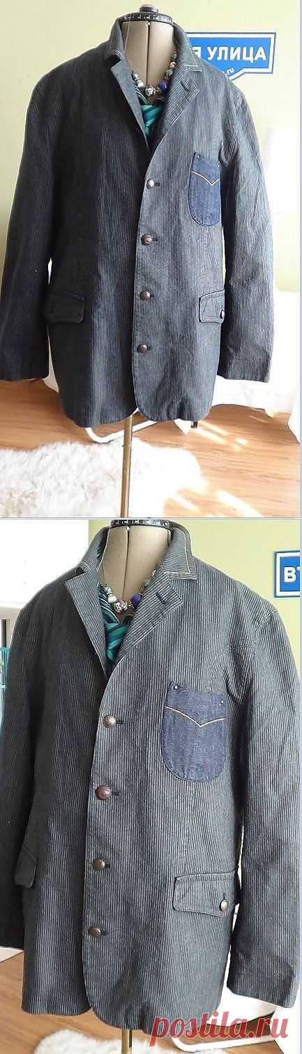 Забойный мужской пиджак HUGO BOSS (трафик) / Мужская мода / Модный сайт о стильной переделке одежды и интерьера