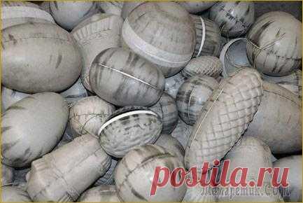 Делаем папье-маше из яичных лотков: инструкция пошагово