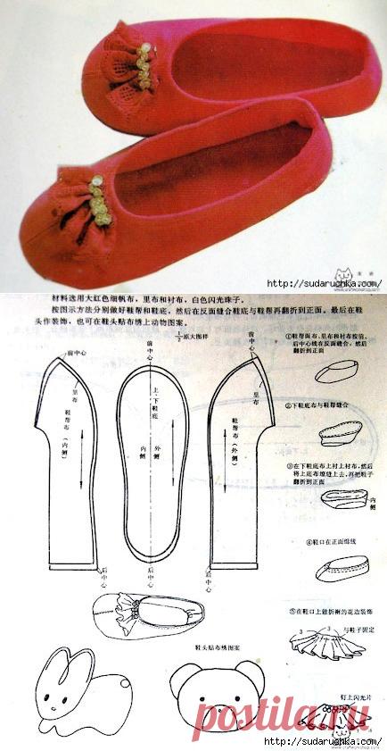 Как сделать для кукол обувь