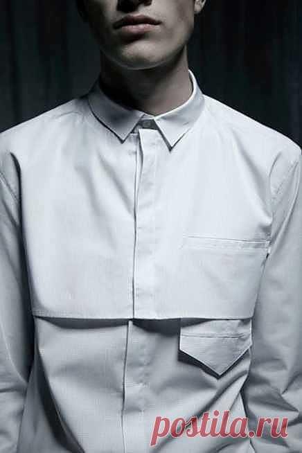 Интересная рубашка / Детали / Модный сайт о стильной переделке одежды и интерьера