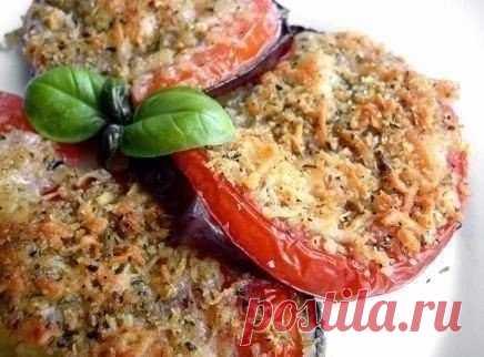 Баклажаны с помидорами, запеченные под сыром / Умная готовка