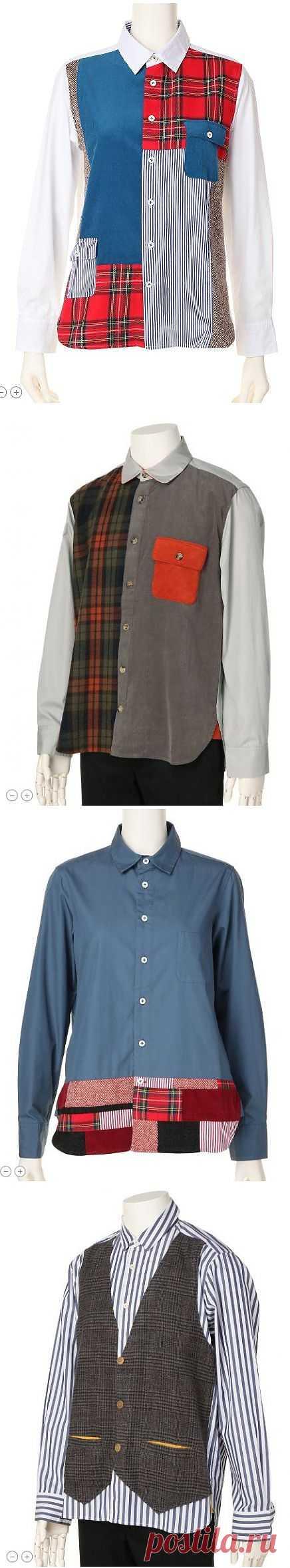 Рубашки с оригинальными фактурами / Рубашки / ВТОРАЯ УЛИЦА