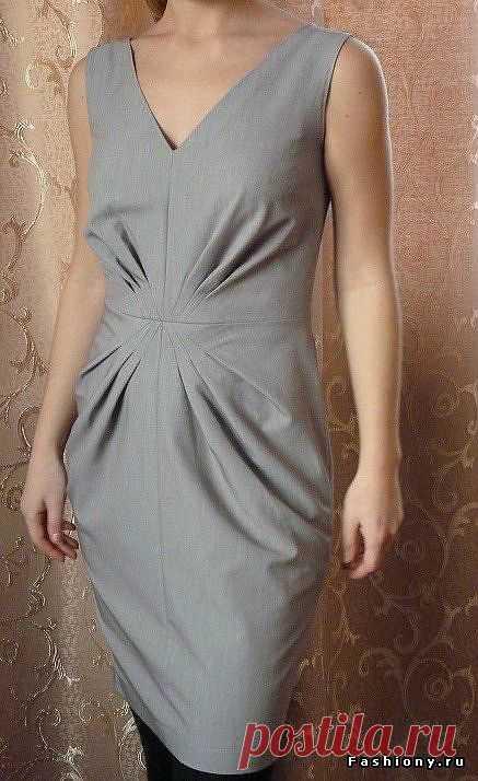 Интересное платье!.