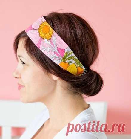 Повязки и ободки для волос своими руками: 5 мастер-классов