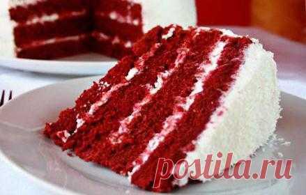 """Торт """"Красный Бархат"""" ( Red Velvet Cake)"""