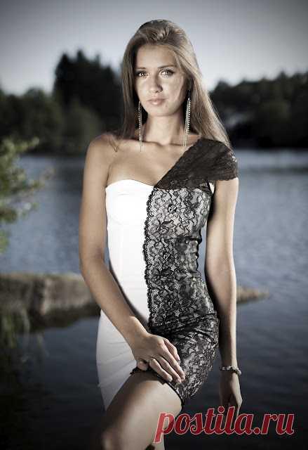 Хорошая идея для обновления платья / Платья Diy / Модный сайт о стильной переделке одежды и интерьера