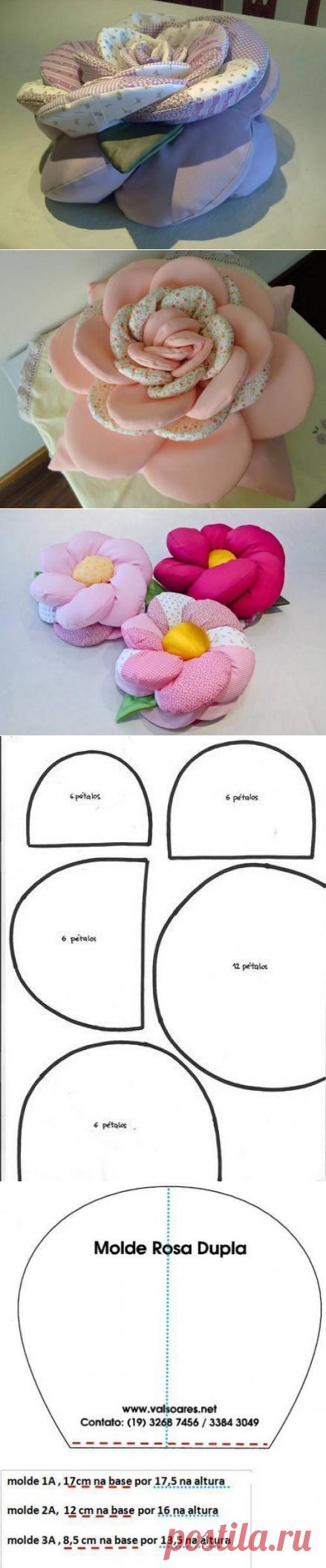 Пошив декоративных подушек выкройки