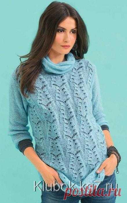 Спицы.Пуловер. | Клубок