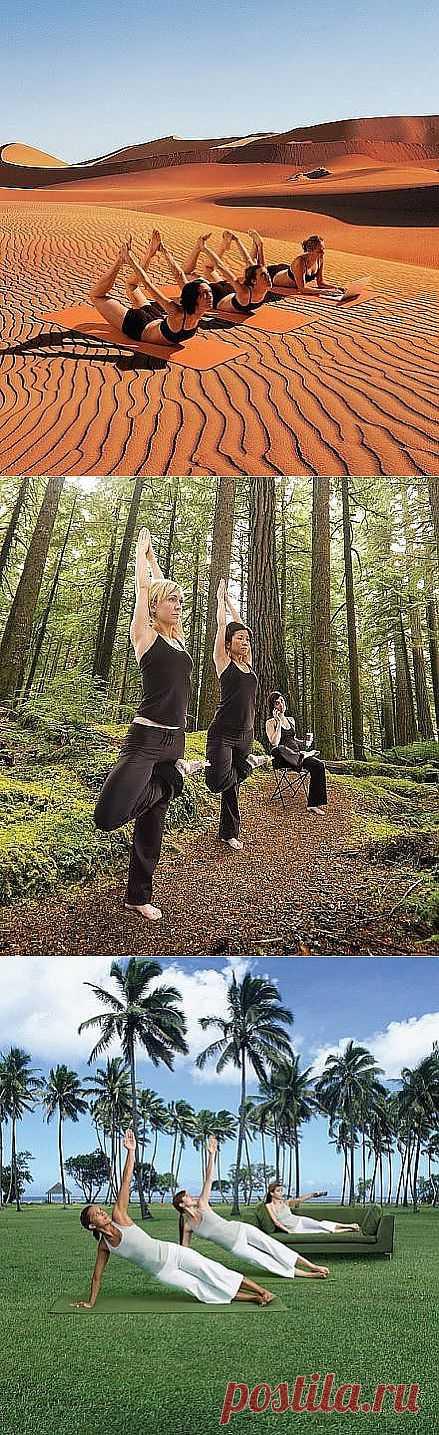 Все уже практикуют йогу, а ты?