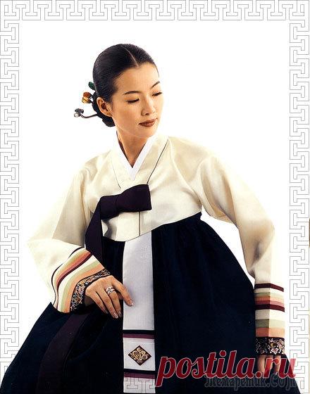 Ханбок - корейский национальный костюм. Женский ханбок: силуэт, цветовая гамма, отделка, аксессуары, традиция и современность