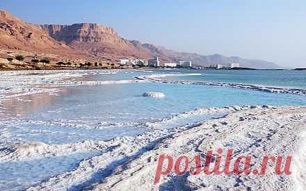 Какие чудеса есть на Мёртвом море?   Мир вокруг нас