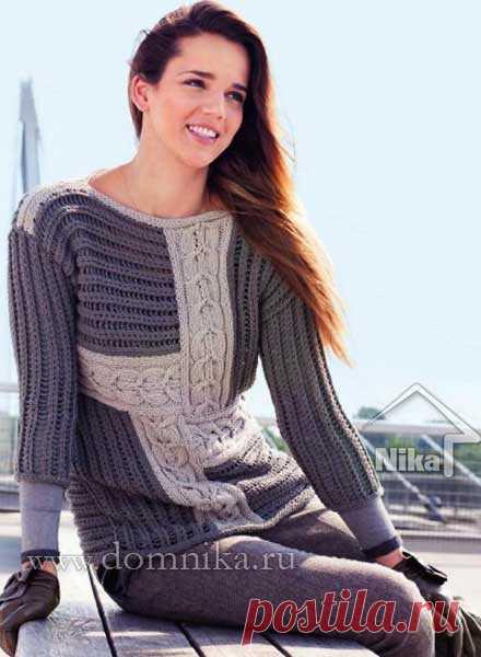 stilnyj-vjazanyj-pulover-pjechvork.jpg (440×600)