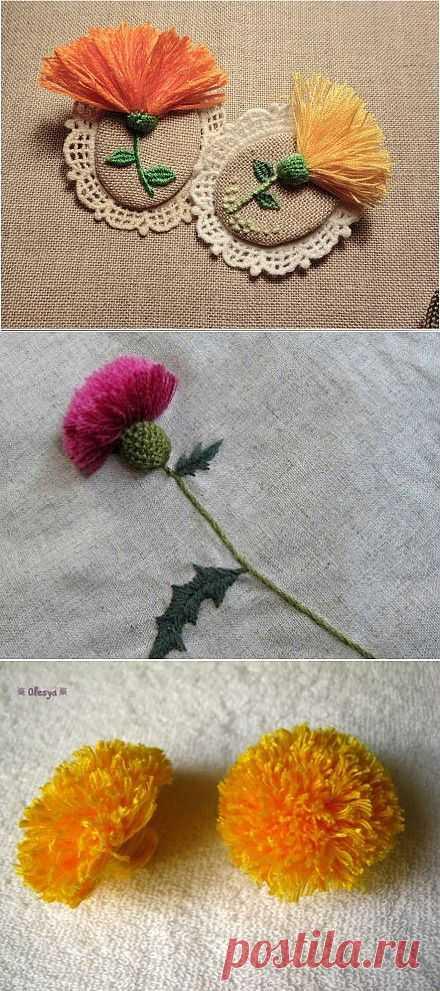 Нашитые цветы | Все о вышивке | Форум | Вышиваем крестом