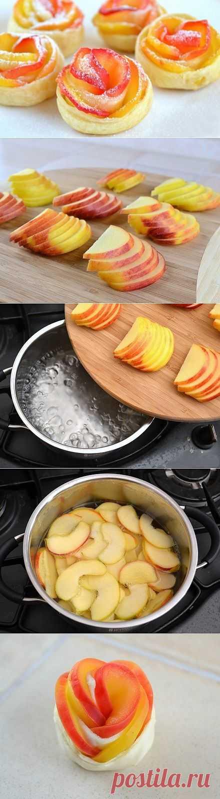 Яблочные «Розочки»
