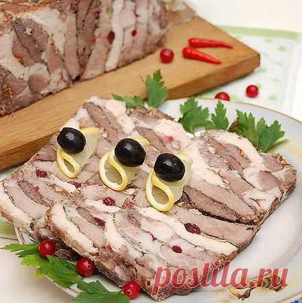 Мясная закуска к празднику