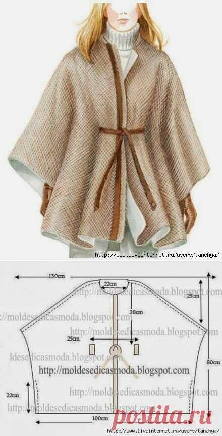 Утепляемся к осени: 8 суперпростых швейных идей + схемы с размерами | Сделуха | Яндекс Дзен