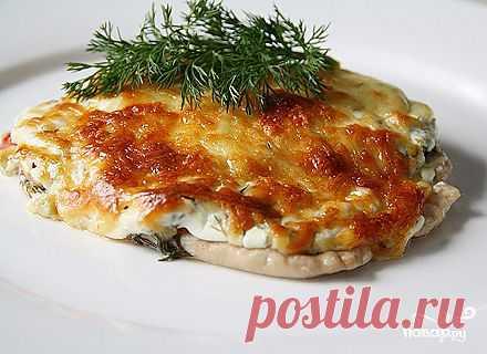 Отбивные из куриного филе в духовке с помидорами - пошаговый кулинарный рецепт на Повар.ру