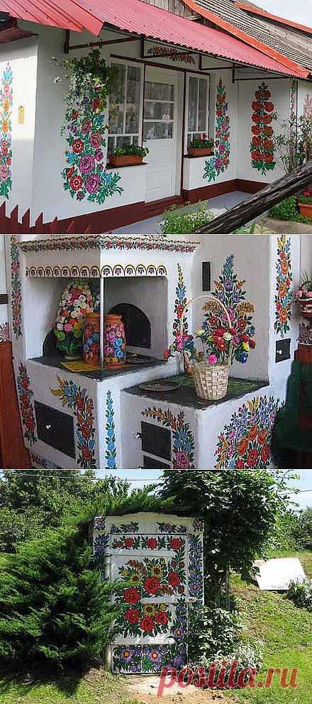 Красивая дача: очарование народных традиций