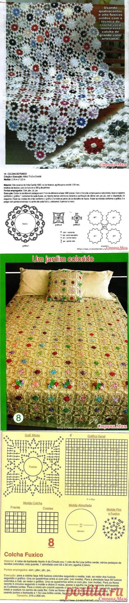 Интересные идеи: ткань +вязание