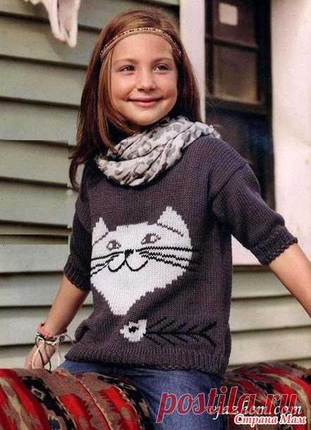 Детям, любителям кошек - Жаккард - Страна Мам