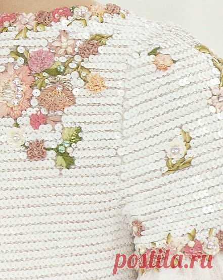 Вышивка ПОД пайетками / Вышивка / Модный сайт о стильной переделке одежды и интерьера