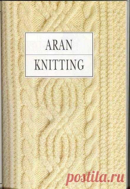 Aran knitting.