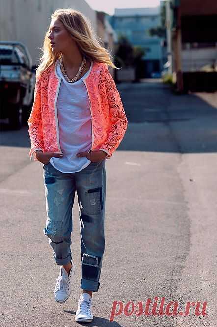 Джинсы в заплатах / Переделка джинсов / Модный сайт о стильной переделке одежды и интерьера