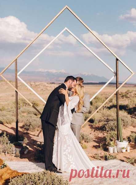 Top-10 идей оформления свадебной церемонии 2018😍
