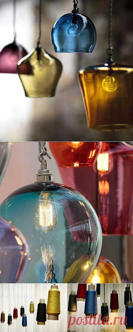 Люстры из неожиданных вещей (подборка) / Освещение / Модный сайт о стильной переделке одежды и интерьера