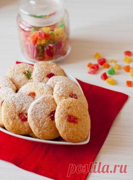 Готовим на желтках: Печенье с цукатами