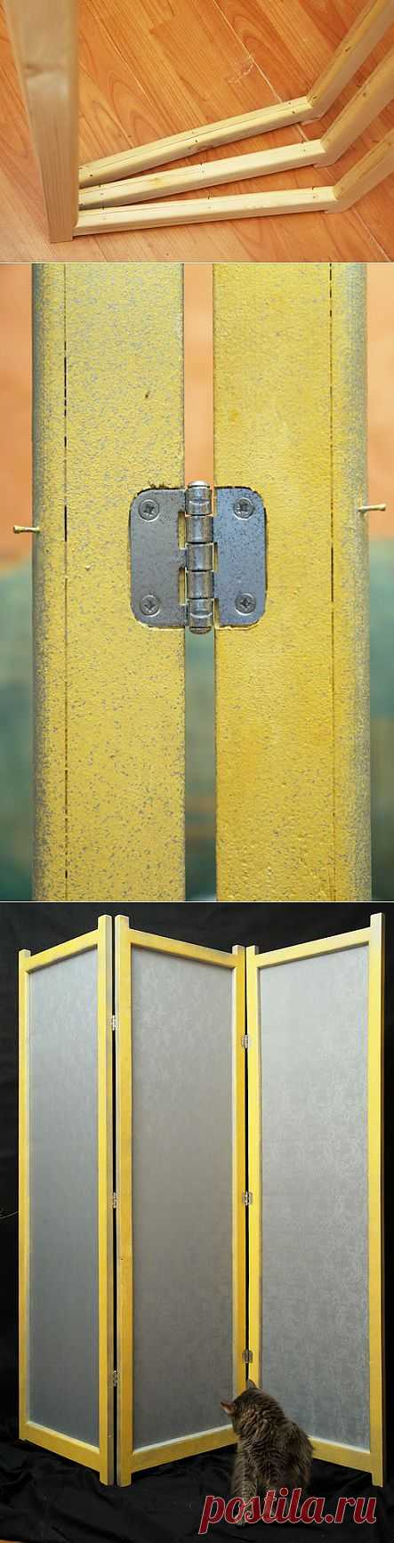 (+1) - Как сделать ширму: фоторепортаж | МАСТЕРА