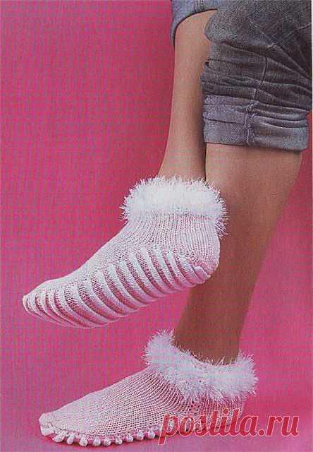 Носки с массажной подошвой.