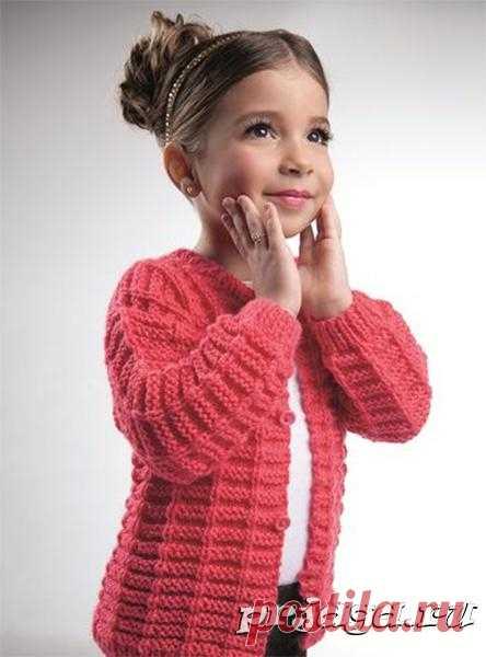 детская кофта спицами - Самое интересное в блогах