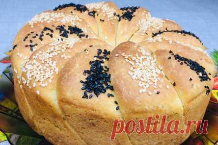 Сербский сливочный хлеб