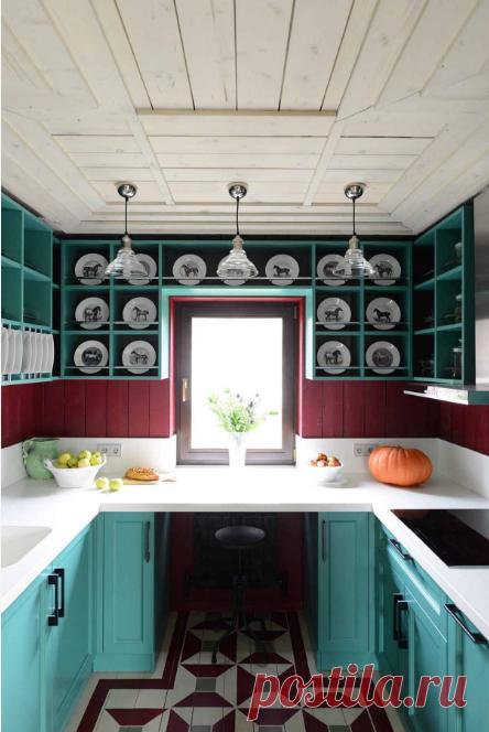 Cuando es necesario hacer la cocina conveniente, comienzan de la ergonomía. ¿Cómo organizar correctamente el espacio de trabajo, a que altura colgar los armarios de cocina y donde más vale guardar los objetos más necesarios? A todas estas preguntas hay unas recomendaciones precisas y son contadas las dimensiones. Como hacer la cocina estandartizada es más conveniente»