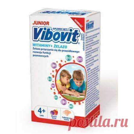 Vibovit Junior Vitamins + Iron x 30 lozenges