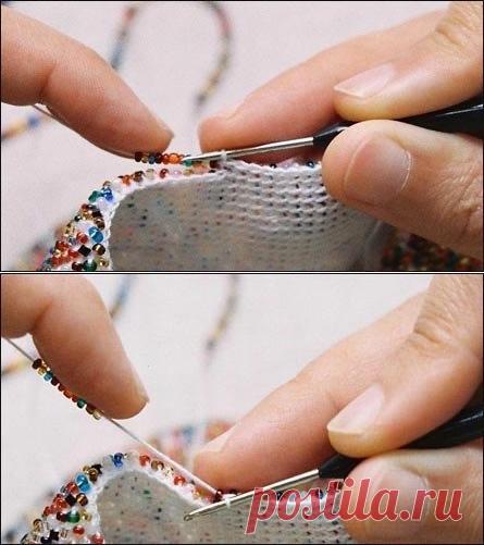 Вязание с бисером для начинающих
