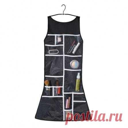 Это маленькое черное платье позволит навести дома идеальный порядок, потому что это - органайзер для мелочей
