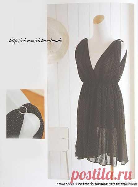 Платье из двух прямоугольников / Простые выкройки / Модный сайт о стильной переделке одежды и интерьера