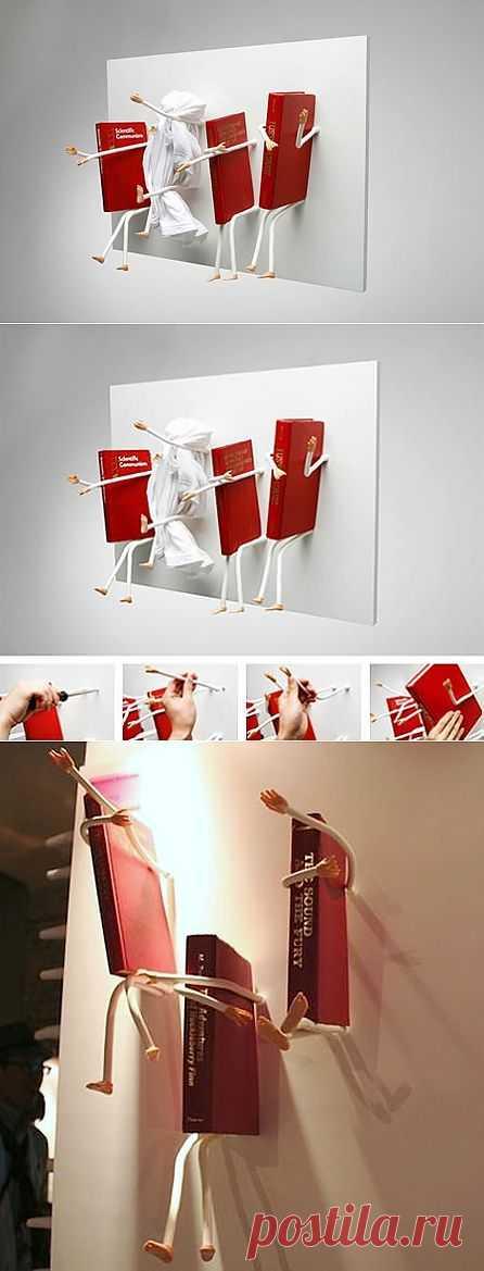 Ручки + ножки = полочка (Читай-город) / Мебель / Модный сайт о стильной переделке одежды и интерьера