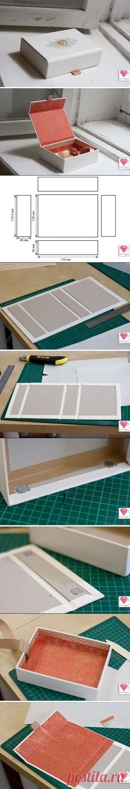 Красивая коробочка своими руками — Сделай сам, идеи для творчества - DIY Ideas