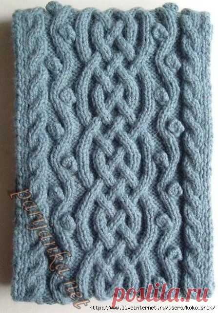 вязание на спицах кельтские узоры на спицах сложный кельтский