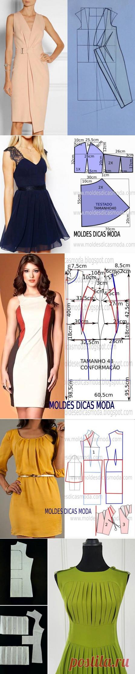 Моделирование платьев на разные случаи жизни — Сделай сам, идеи для творчества - DIY Ideas