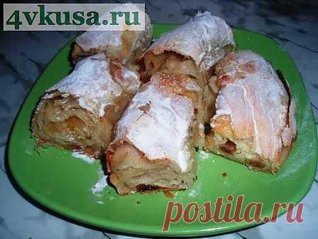 Вертута с яблоками. | 4vkusa.ru