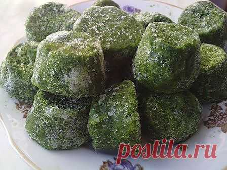 Заготовка зелени заморозка | Любимые рецепты