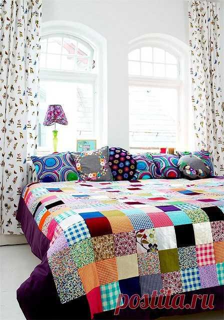 Потрясающие лоскутные одеяла (Шитье и крой) — Журнал Вдохновение Рукодельницы