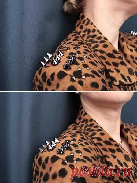 В комплект к шипасто-леопардовым туфлям / Креатив / Модный сайт о стильной переделке одежды и интерьера