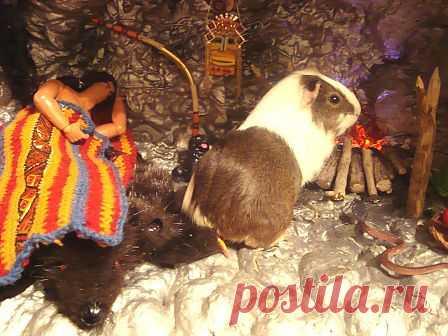 Дом для куклы. Пещера Апача МК