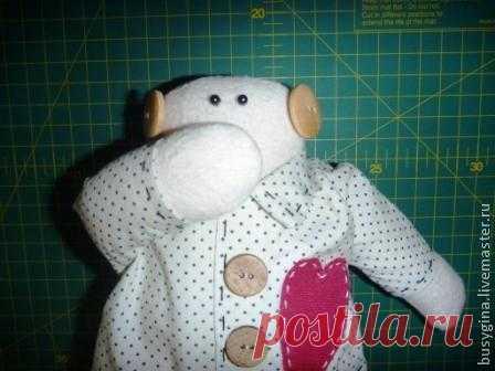 Шьем пижамного снеговика-тильду. - Ярмарка Мастеров - ручная работа, handmade