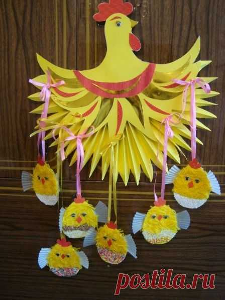 hand-made articles by Easter the hands from napkins: 17 thousand images are found in Yandex. Pictures   Easter